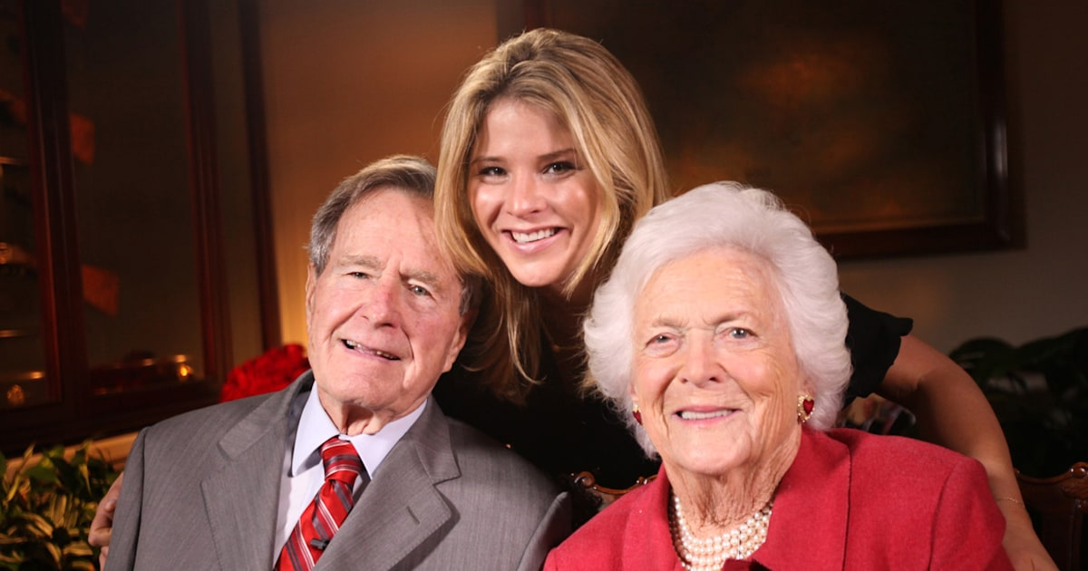 Jenna recalls heartbreaking conversation with her grandfather after Barbara Bush's death