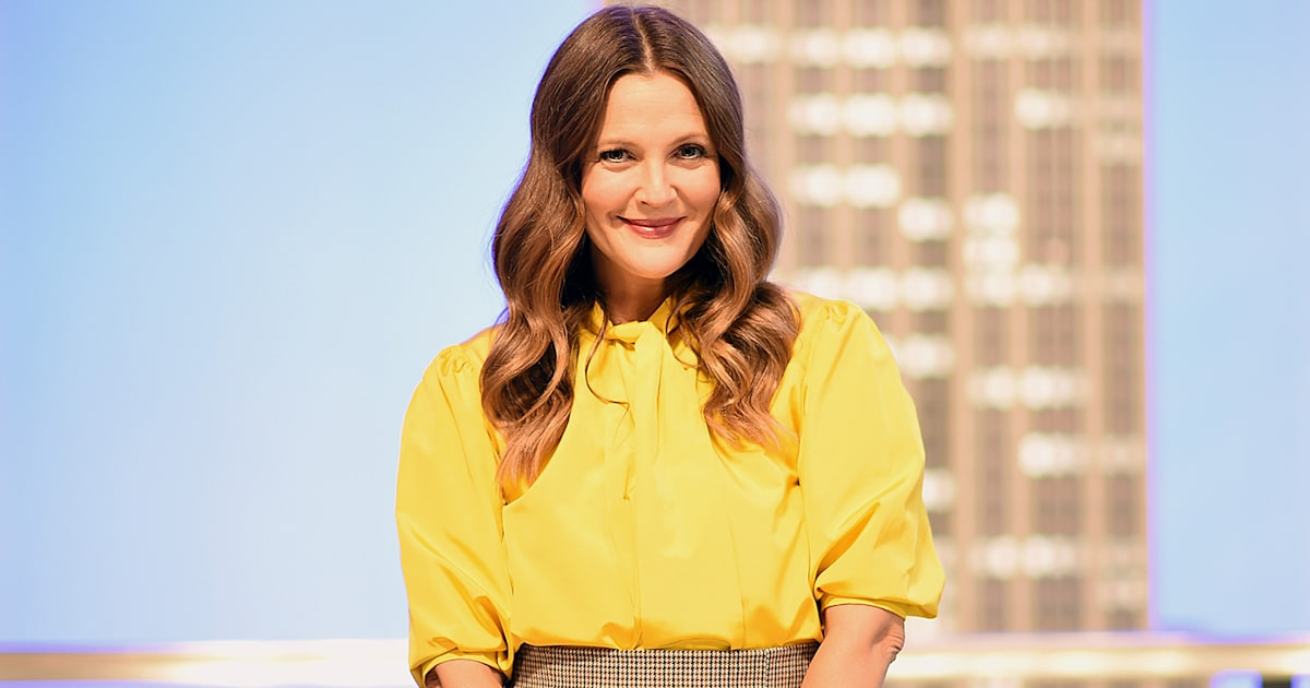 Pants a little tight in quarantine? Drew Barrymore has the perfect solution