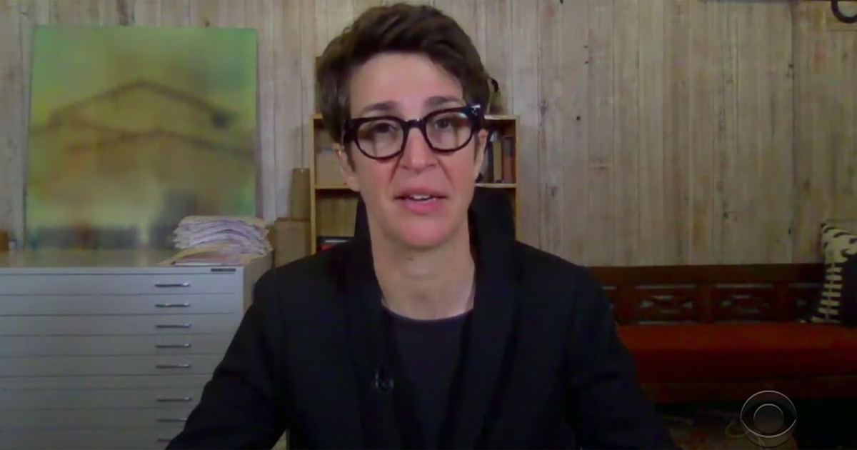 Rachel Maddow updates on partner's health after powerful broadcast on her COVID-19 battle