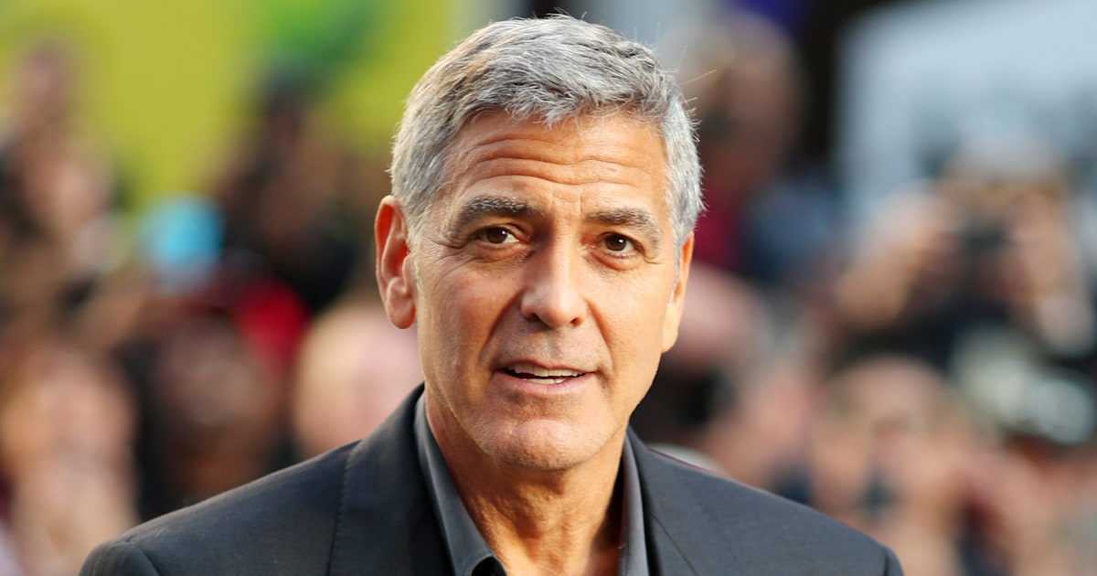 George Clooney was hospitalized with pancreatitis before ...