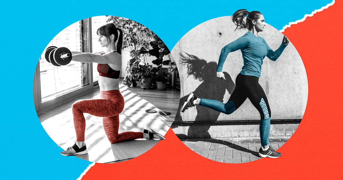 Strength or cardio? Nix sugar or caffeine? Choose the better New Year's goal