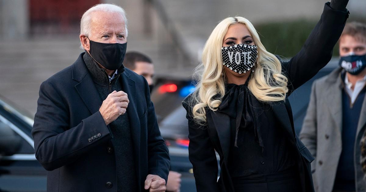 Lady Gaga to sing national anthem at Joe Biden's inauguration