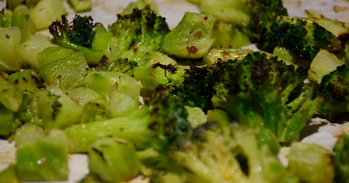 How to cook frozen broccoli so it actually gets crispy