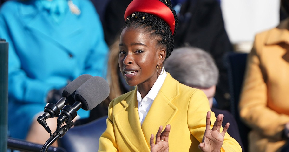 The special meaning behind poet Amanda Gorman's inauguration outfit