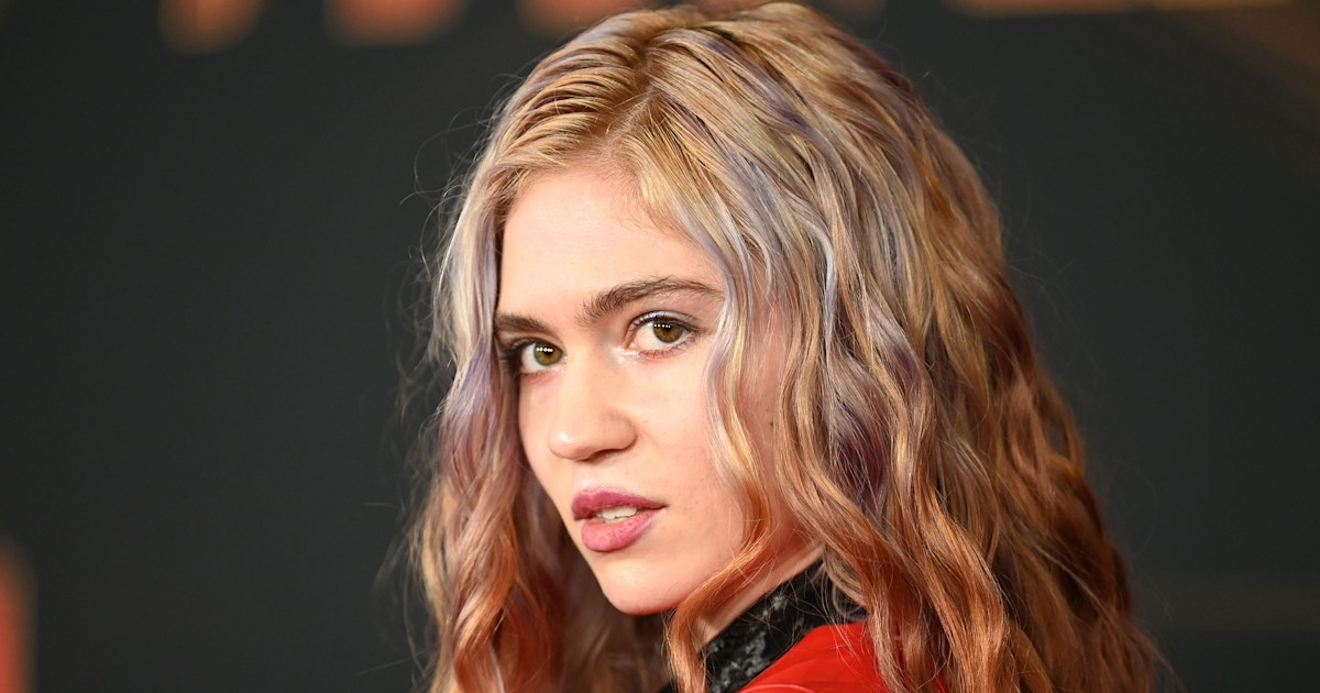Grimes shares photos of 8-month-old son's 'Viking' haircut