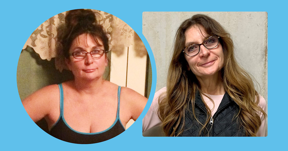 Woman, 55, loses 80 pounds and reverses high blood pressure, cholesterol