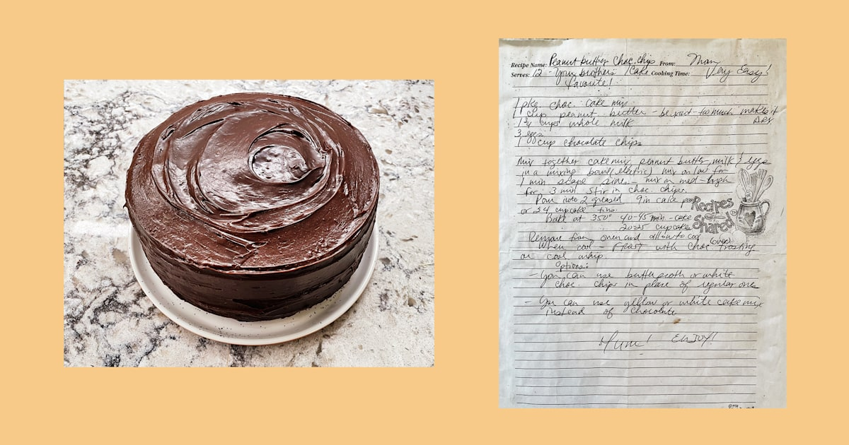 This 5-ingredient cake tastes like a chocolate peanut butter cup