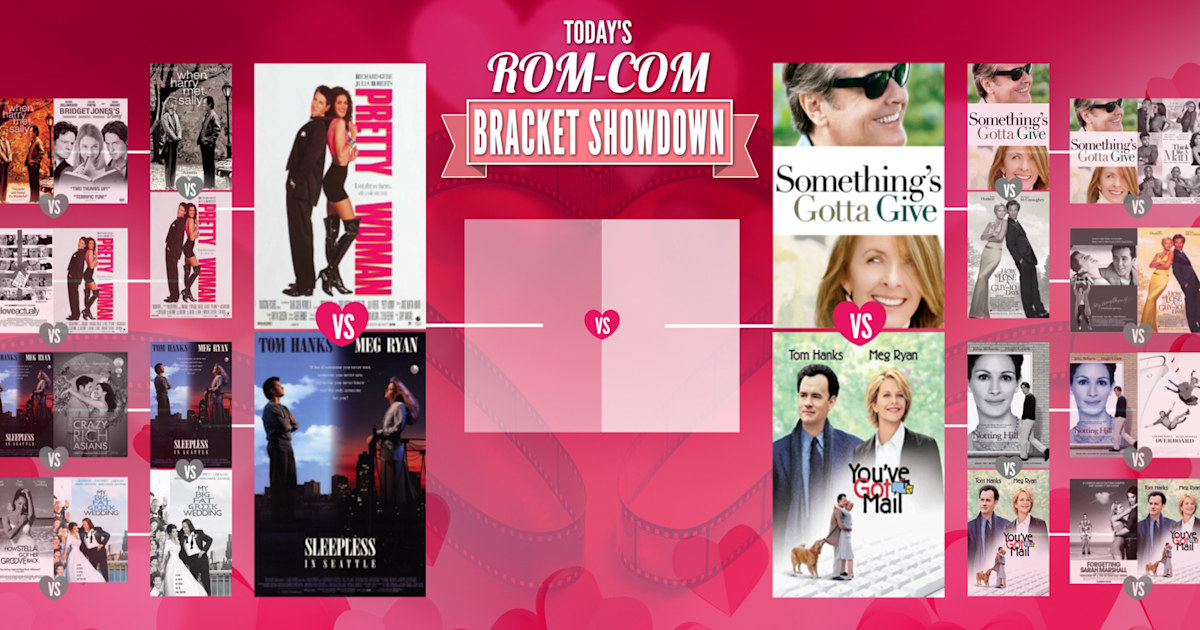 TODAY's Rom-Com Bracket Showdown: Which of the final 4 stole your heart?