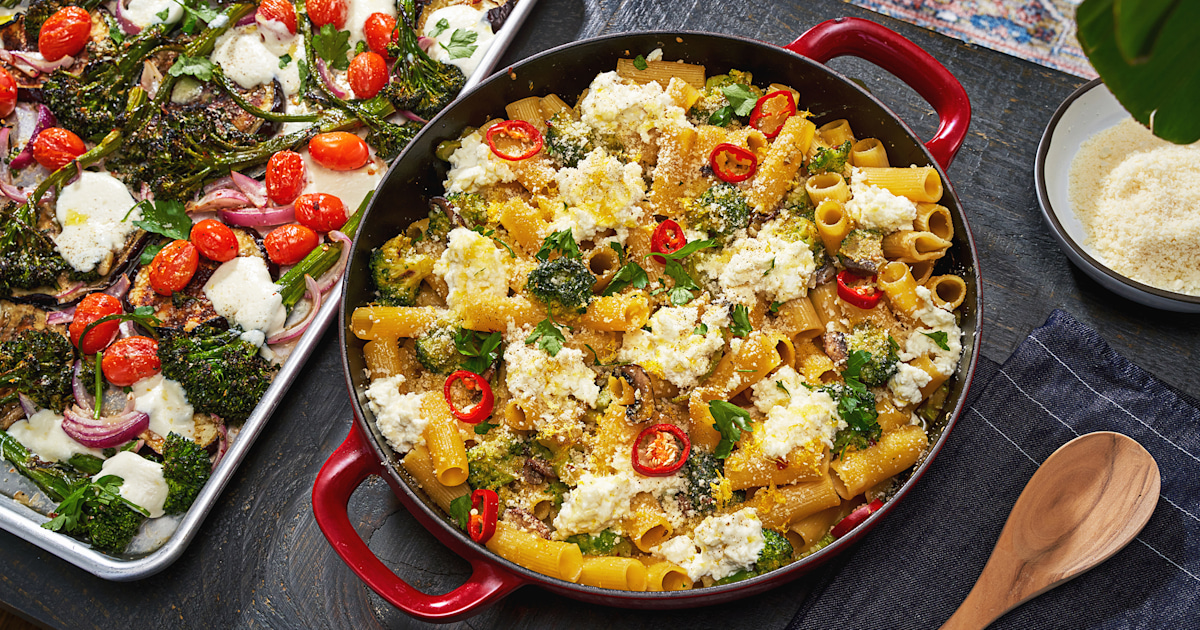 These 3 cozy, comforting vegetarian dinners are perfect for lazy weeknights