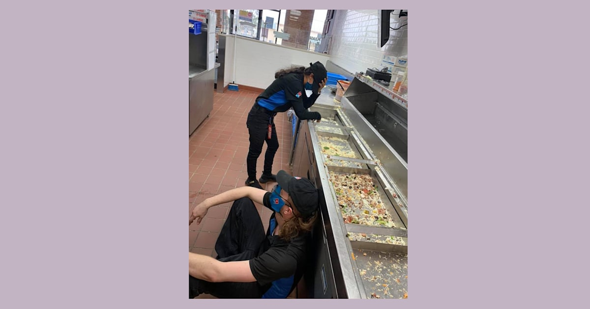 Photo of Domino's workers in Texas goes viral: 'Serving you during this crisis'