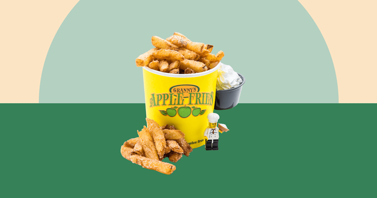 Legoland is famous for its apple fries. Here's how to make them at home