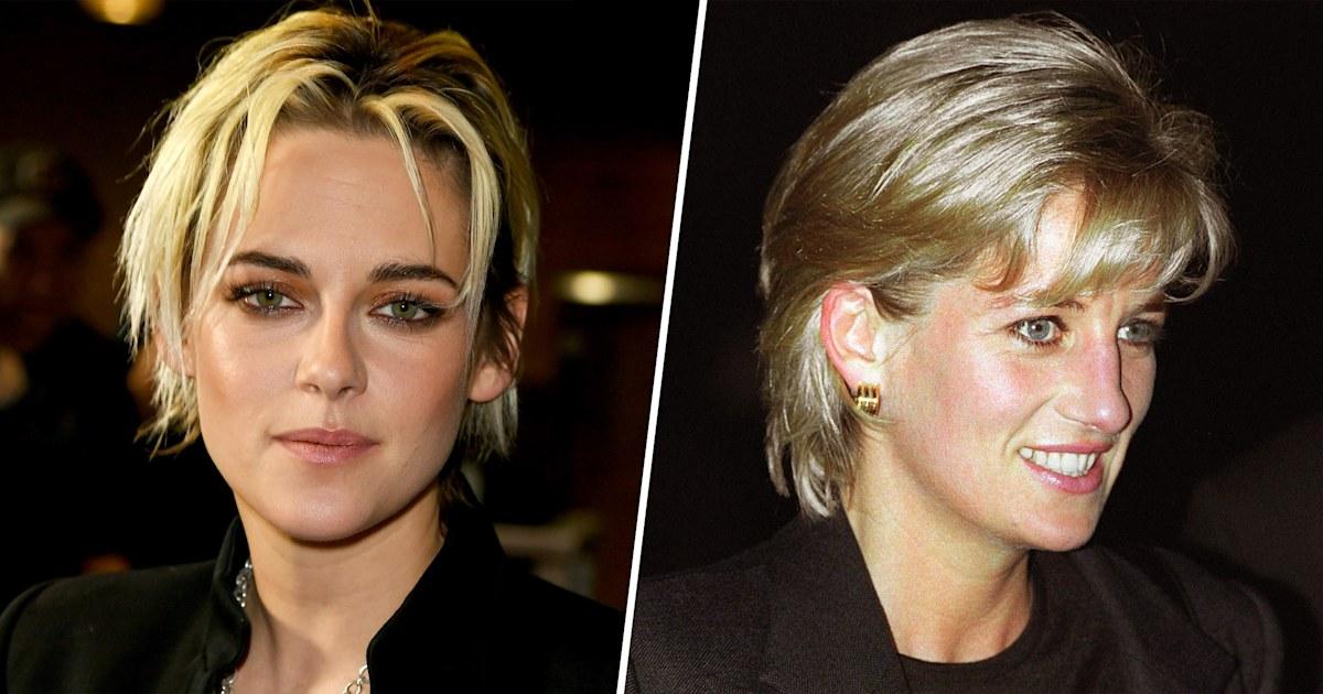 New pics show Kristen Stewart's spot on portrayal of Princess Diana