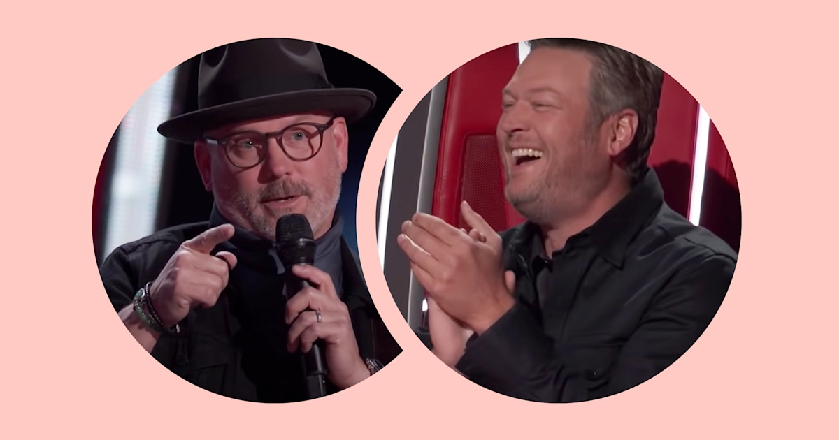 Watch the moment Blake Shelton failed to recognize old bandmate during 'Voice' auditions