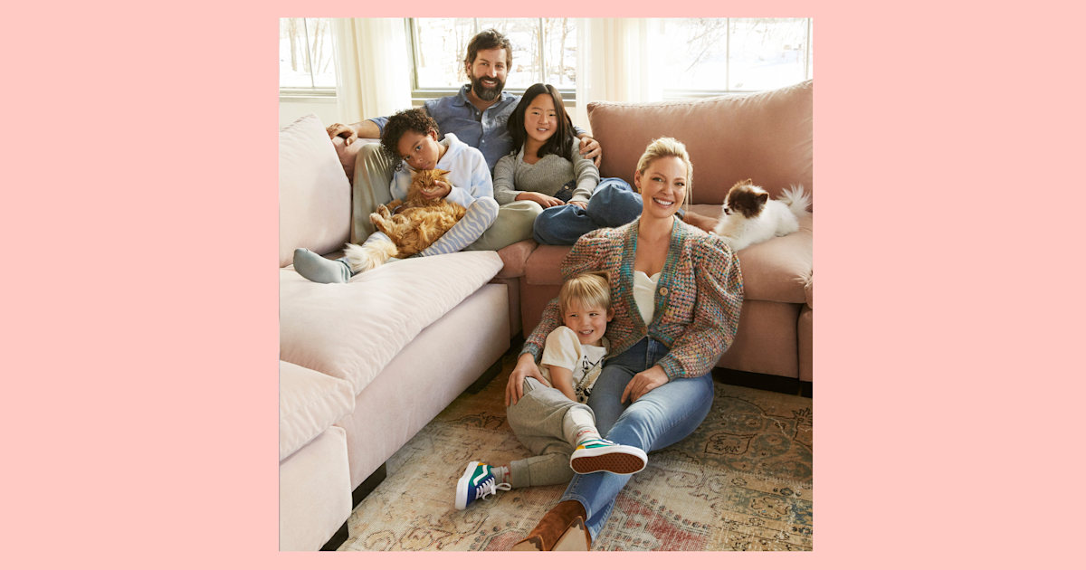 Katherine Heigl shares how she was 'totally naive' about adoption