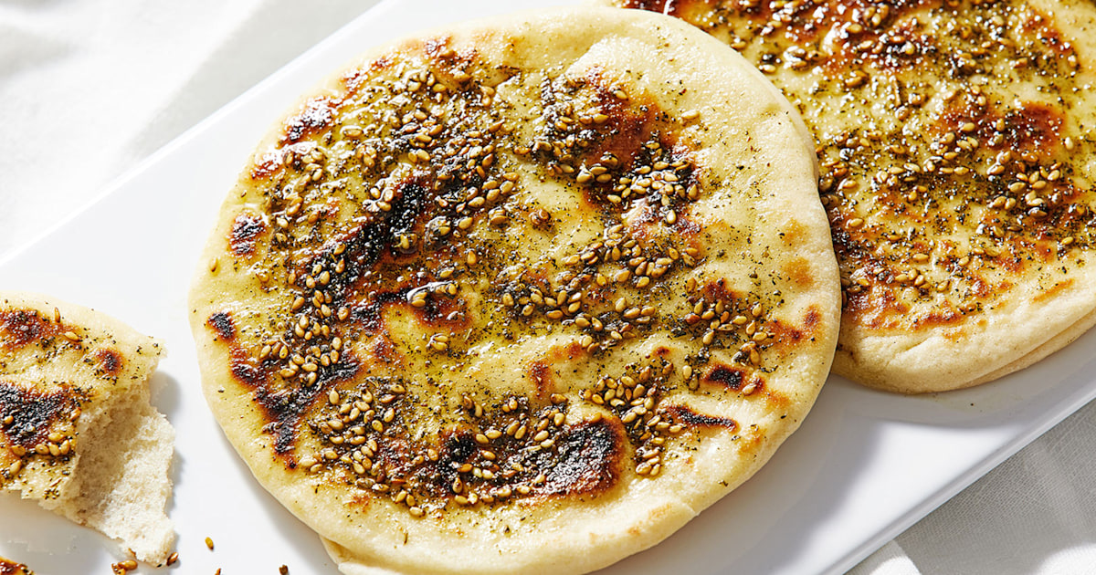 What is za'atar? This Middle Eastern spice mix can be sprinkled on anything