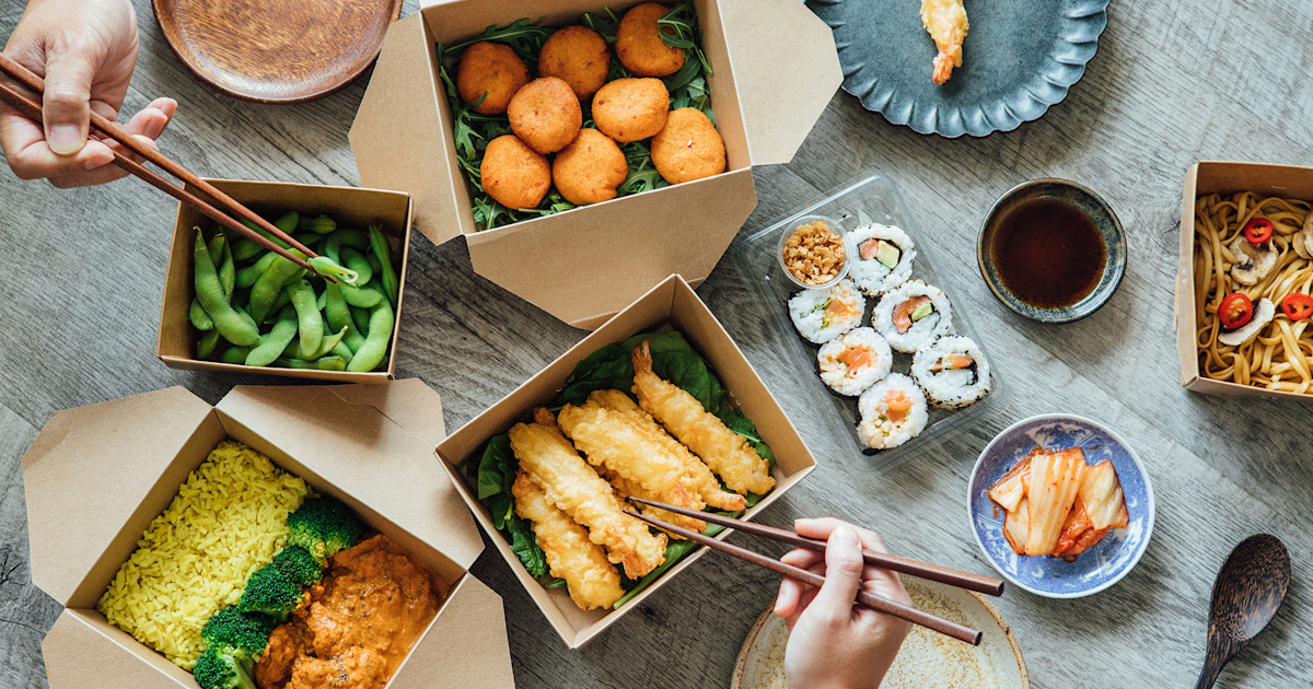 4 ways to make your takeout food order less wasteful