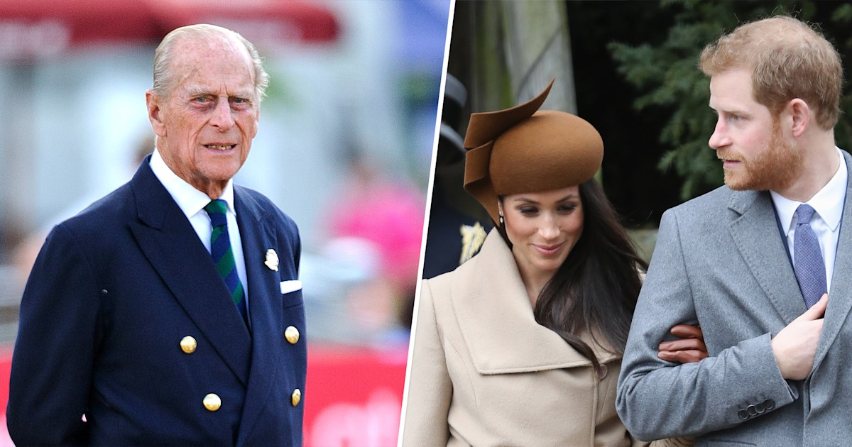 Here's the significance of the flowers Meghan Markle chose for Prince Philip's wreath