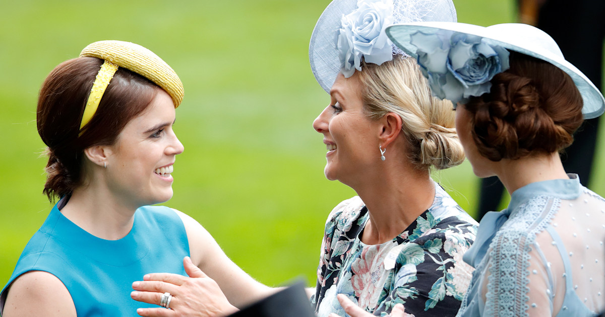 Princess Eugenie and Zara Tindall paid tribute to Prince Philip before he died