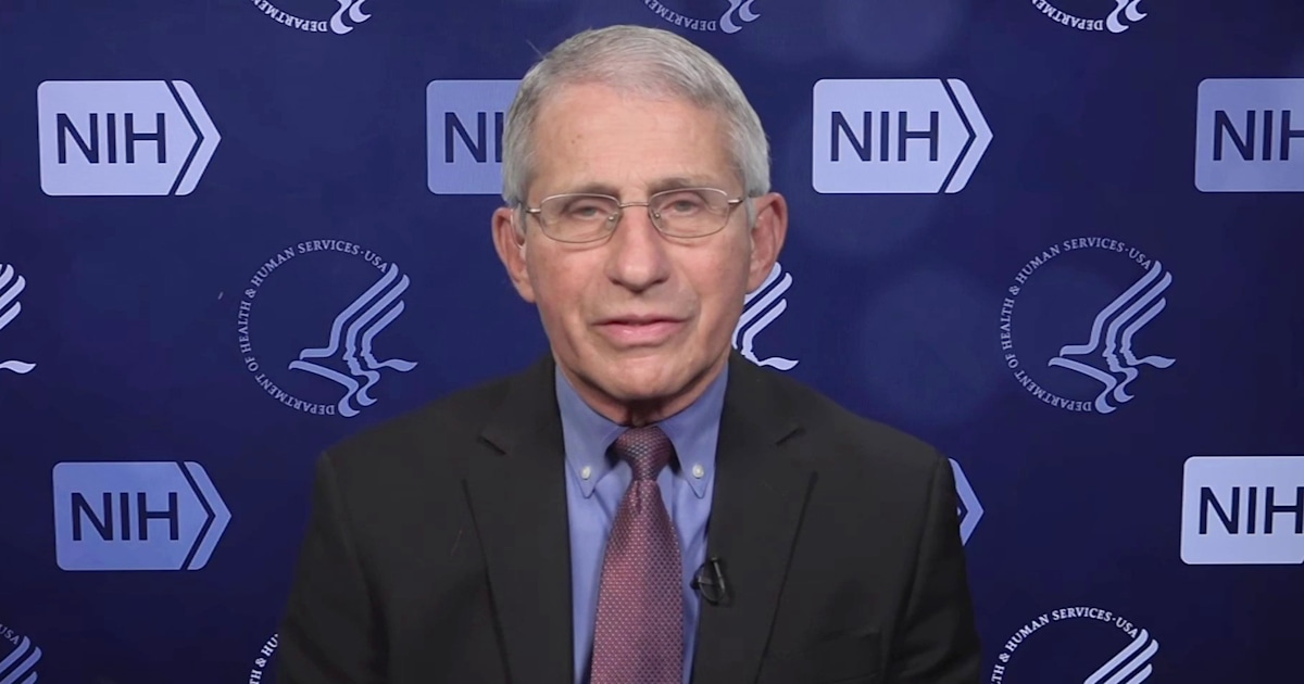 Fauci explains why pausing J&J is a good sign for people hesitant to get vaccinated