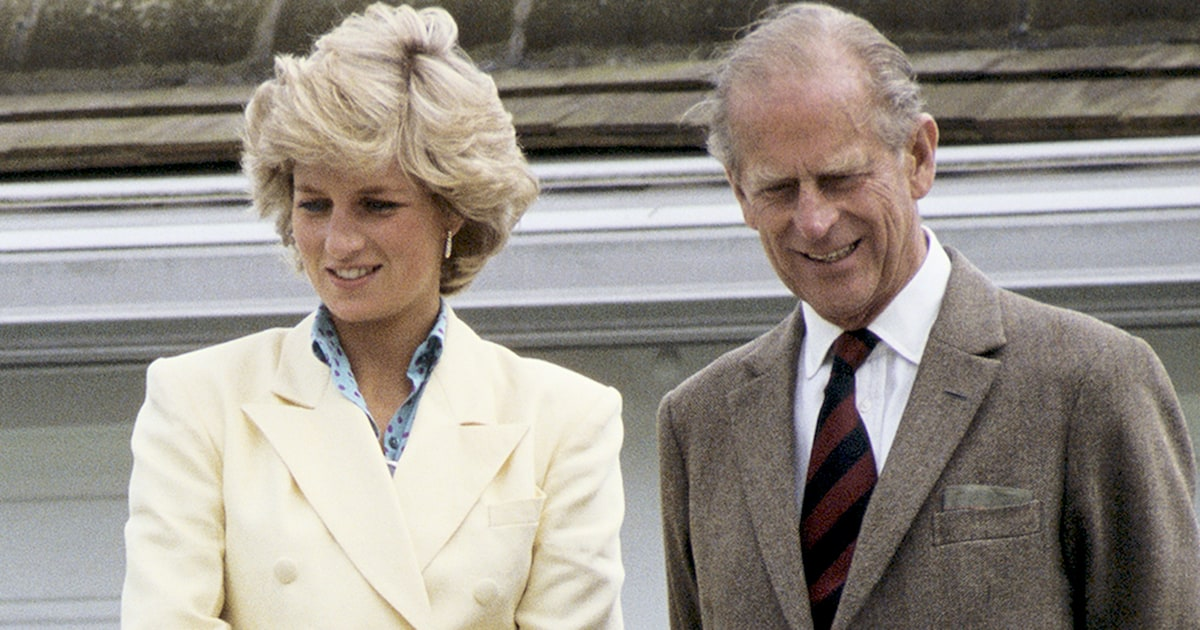 Princess Diana called Prince Philip 'Dearest Pa' in private letters