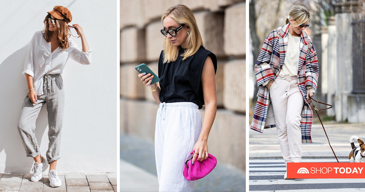 Still living in joggers? Here's 15 ways to dress them up