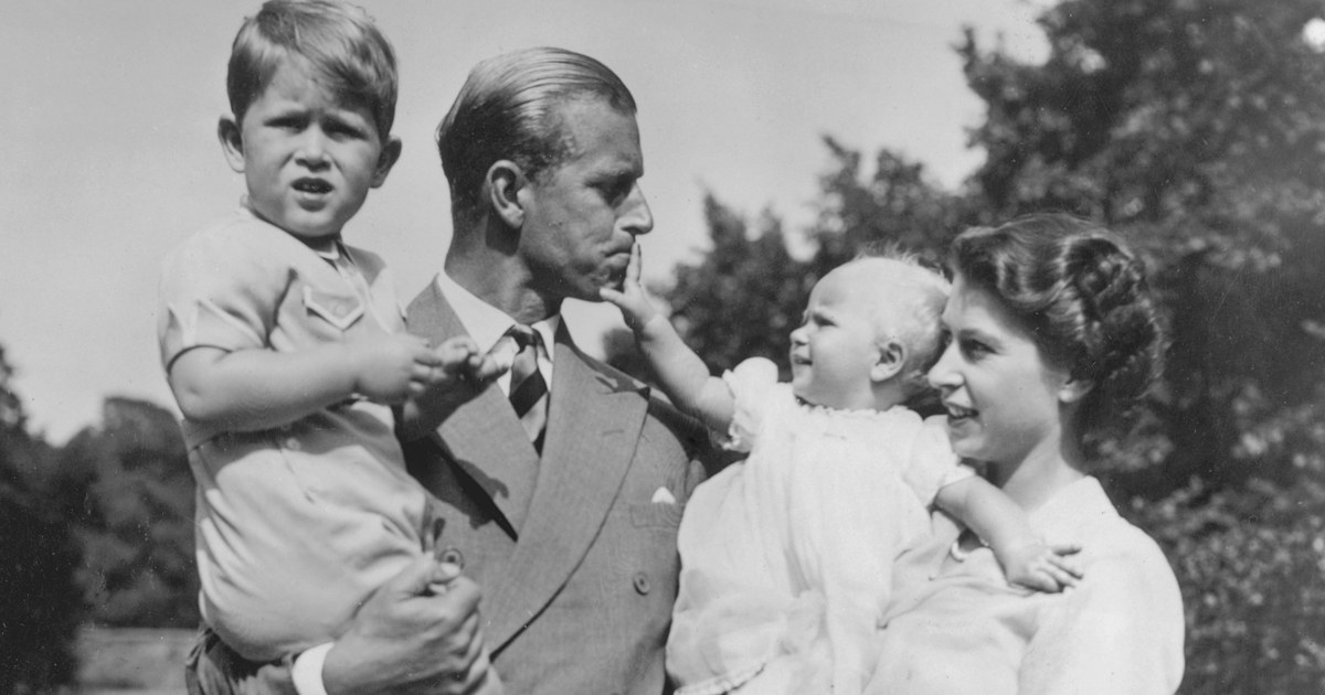 British royal family honors Prince Philip with never-before-seen photos