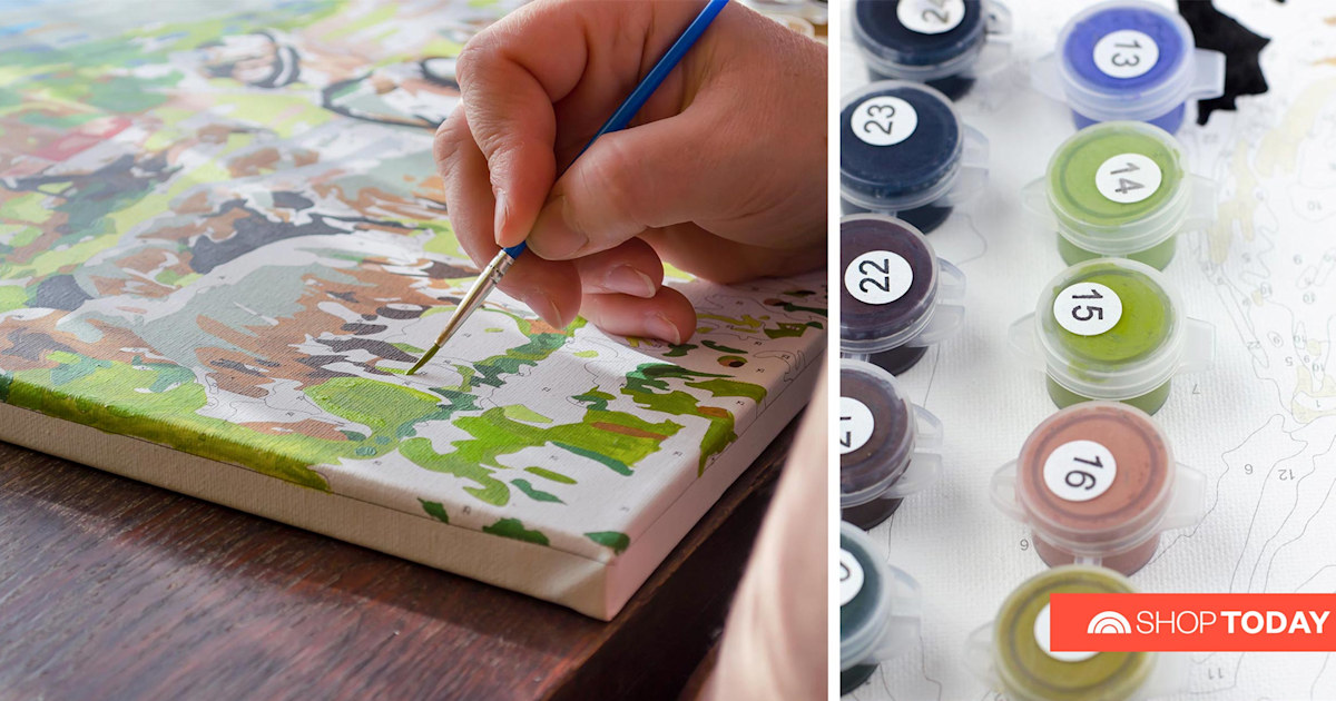 Anyone can be an artist: 15 paint-by-numbers kits for any skill level