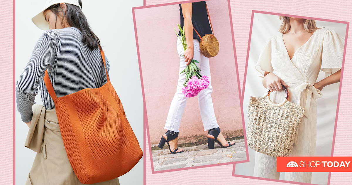 These on-trend bags are perfect for spring and summer — and start at just $8