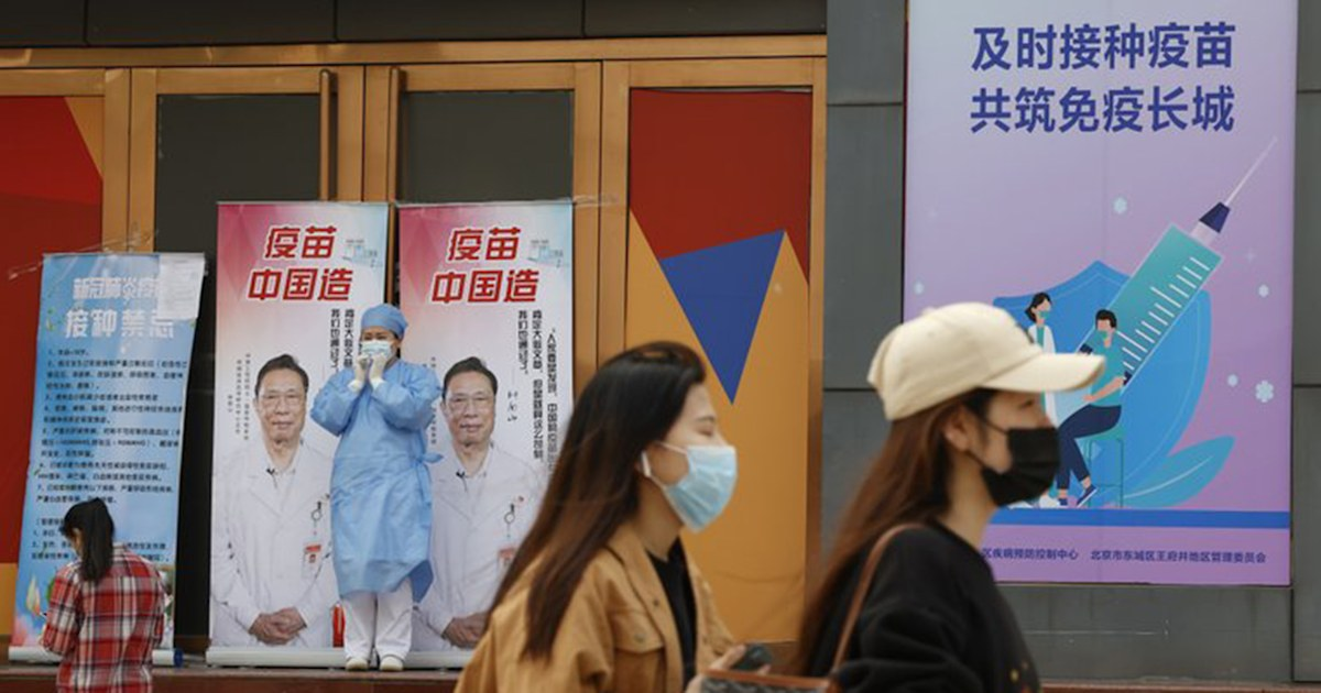 China offers free eggs, other incentives to encourage its citizens to get vaccinated