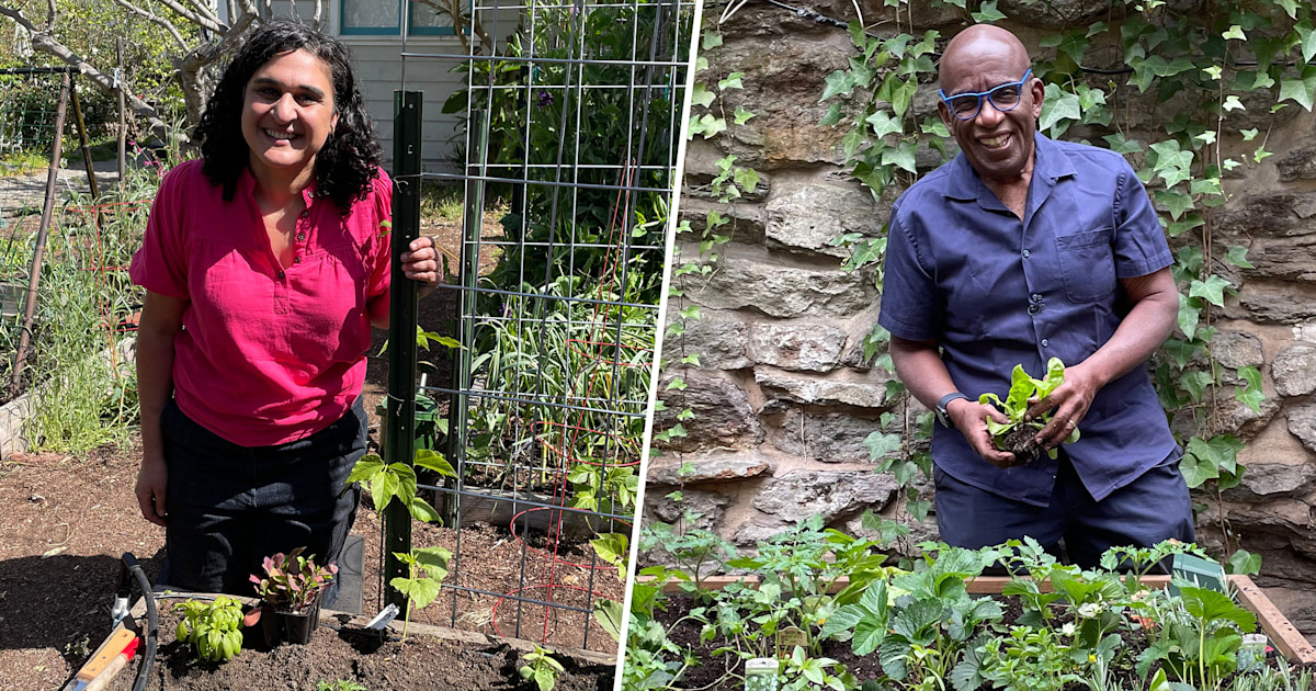 Samin Nosrat guides Al through planting his own vegetable garden
