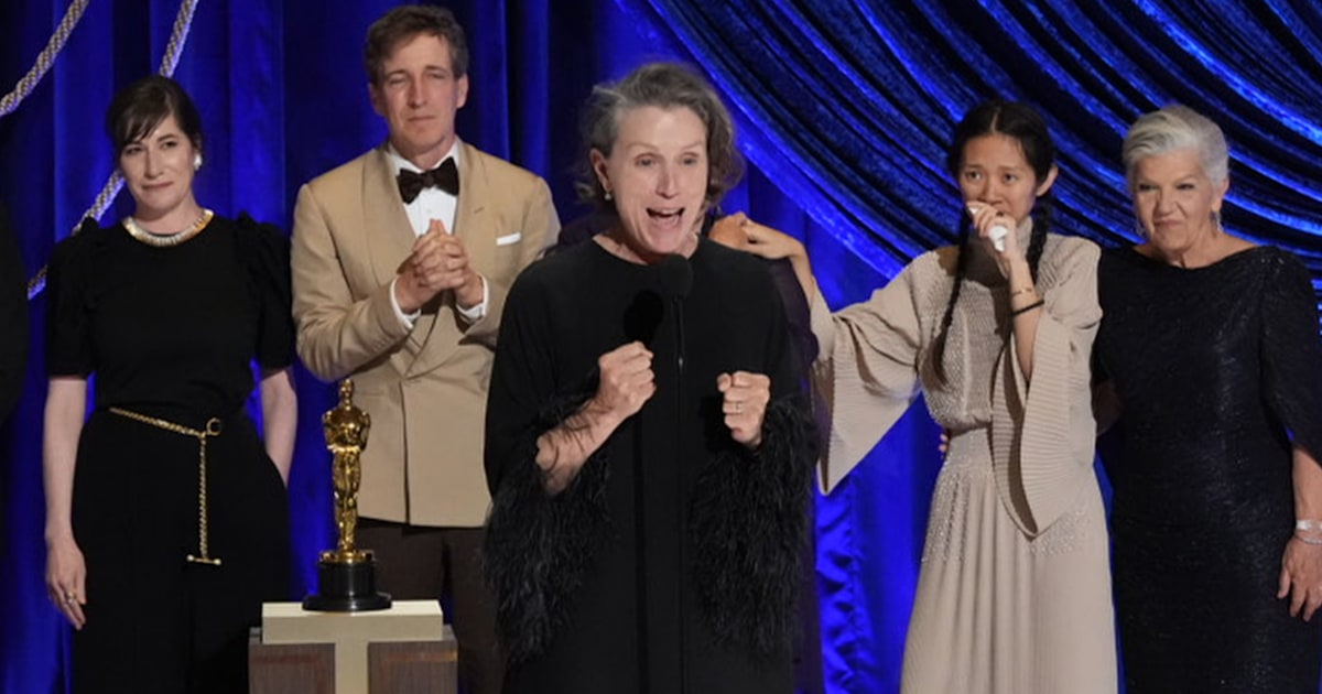 Frances McDormand's howl during Oscars speech had a special meaning