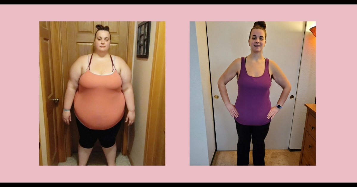 3 simple changes this woman made to lose 217 pounds, improve health