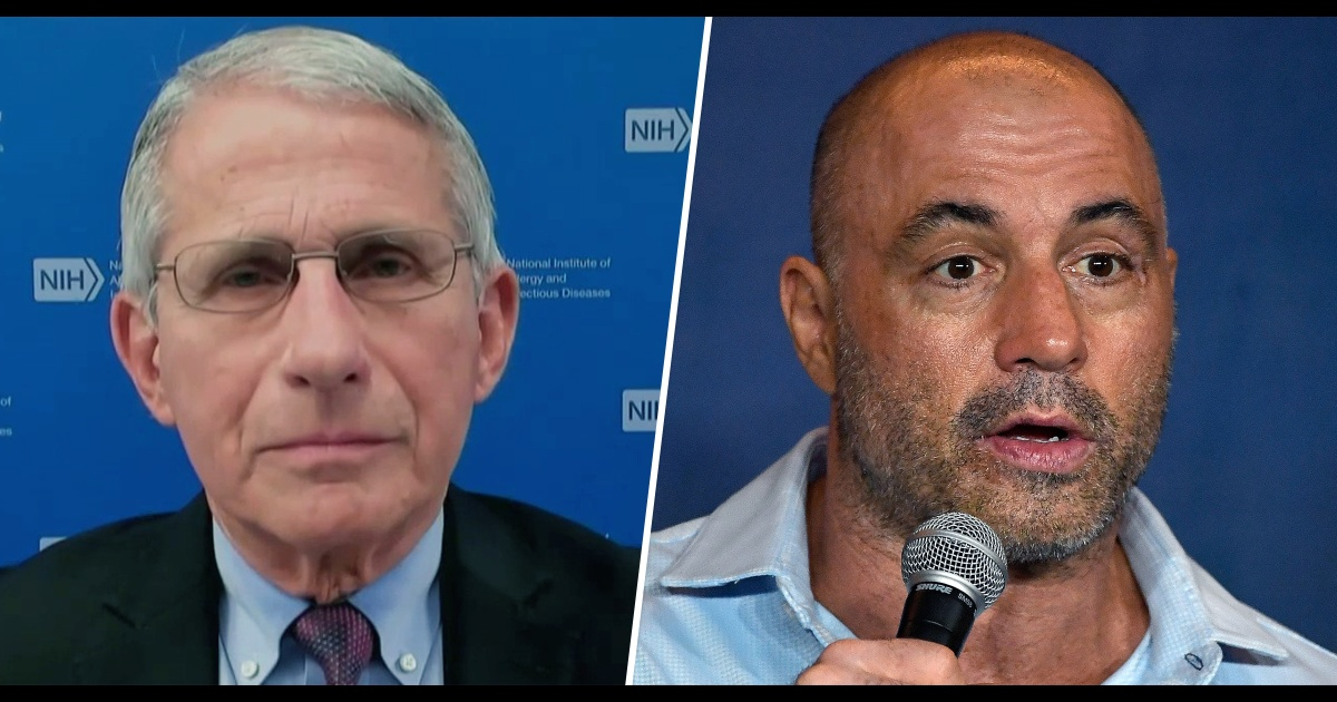 Dr. Fauci says Joe Rogan 'incorrect' to tell young people not to get vaccinated