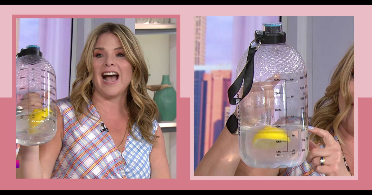 Jenna Bush Hager and Dylan Dreyer love this celebrity-approved hydration trend