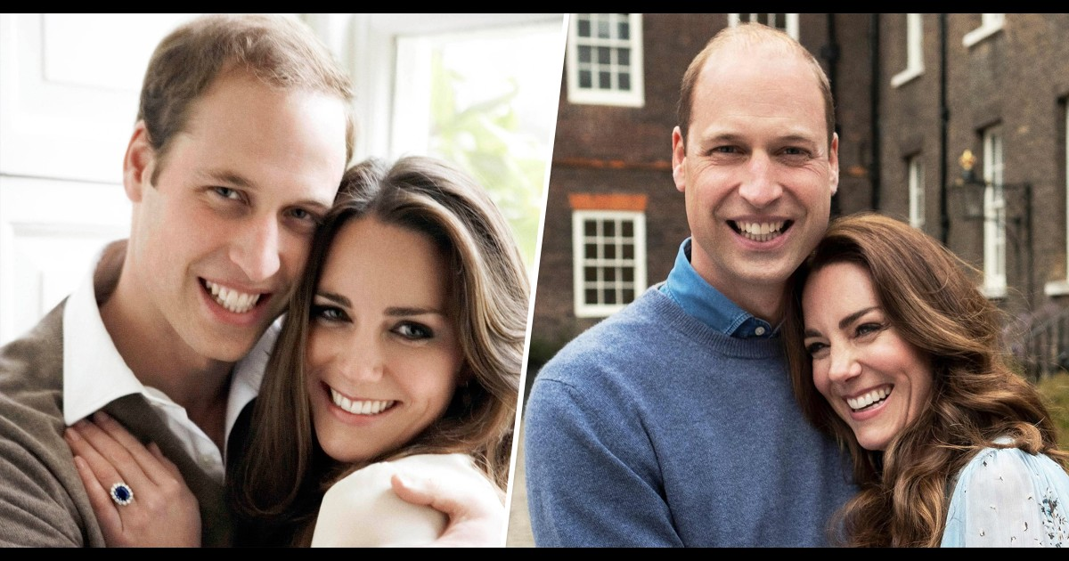 William and Kate's 10th anniversary pic is a sweet nod to their engagement portrait