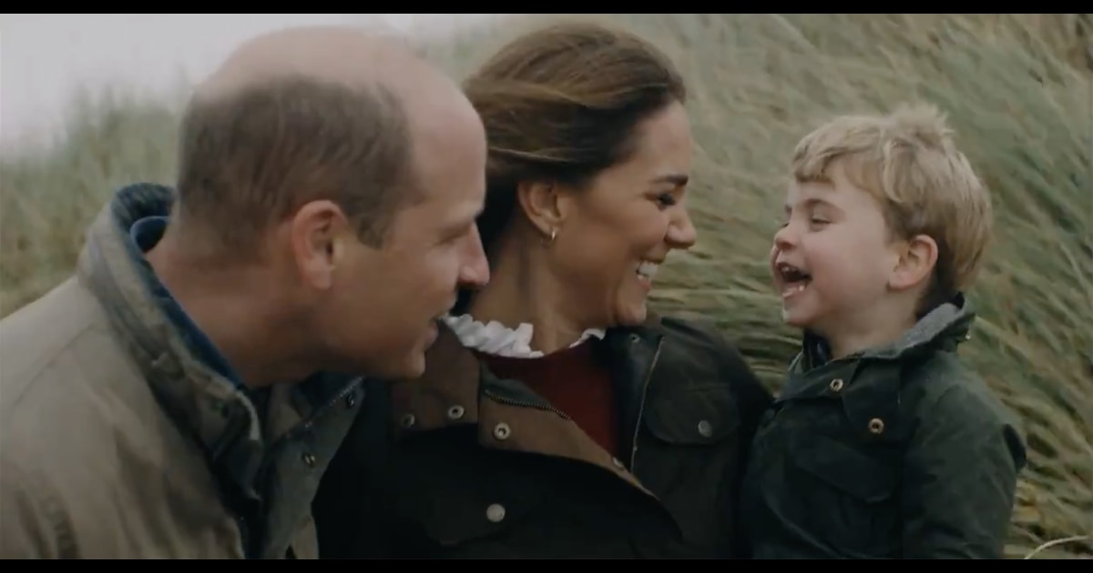William and Kate share intimate family video for 10th anniversary