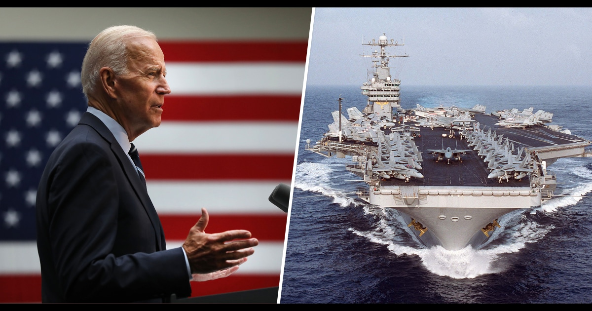 President Biden will not rule out ordering military to get vaccinated