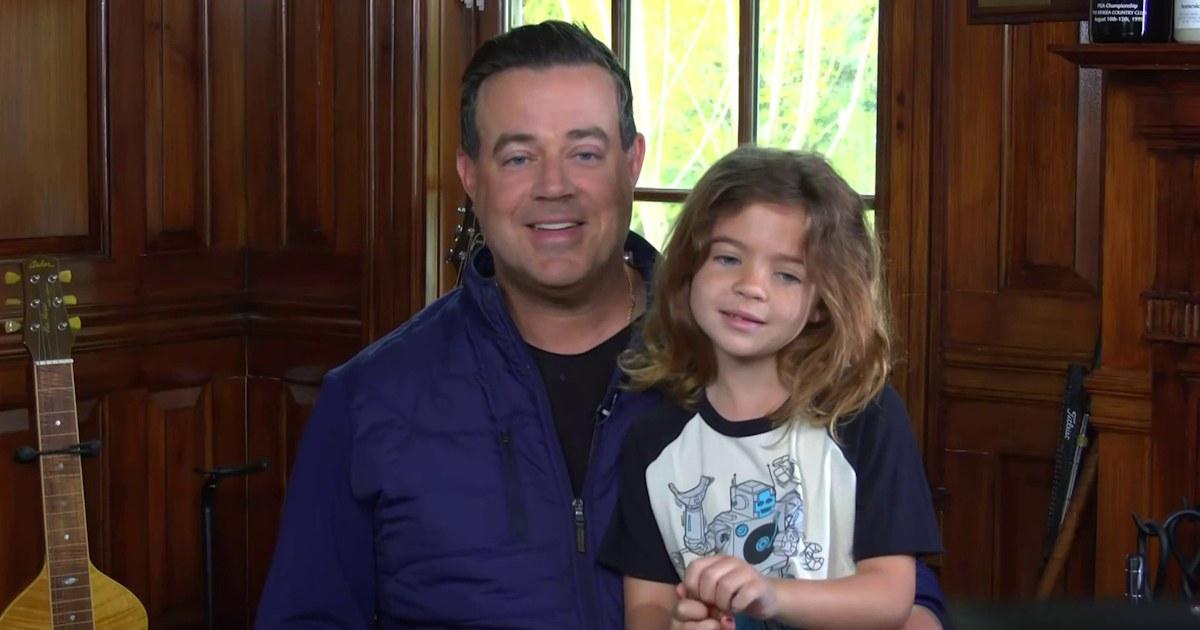 Watch Carson's daughter London adorably crash his live segment
