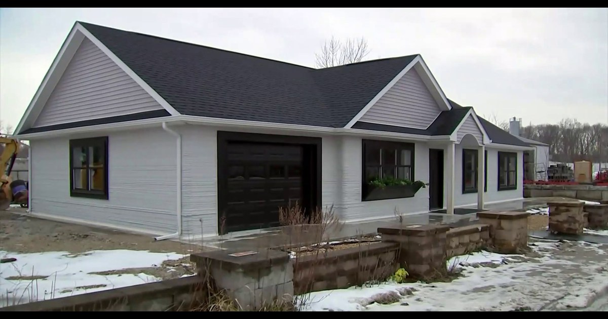 Companies using 3D printing to build houses at 'half the time for half the price'