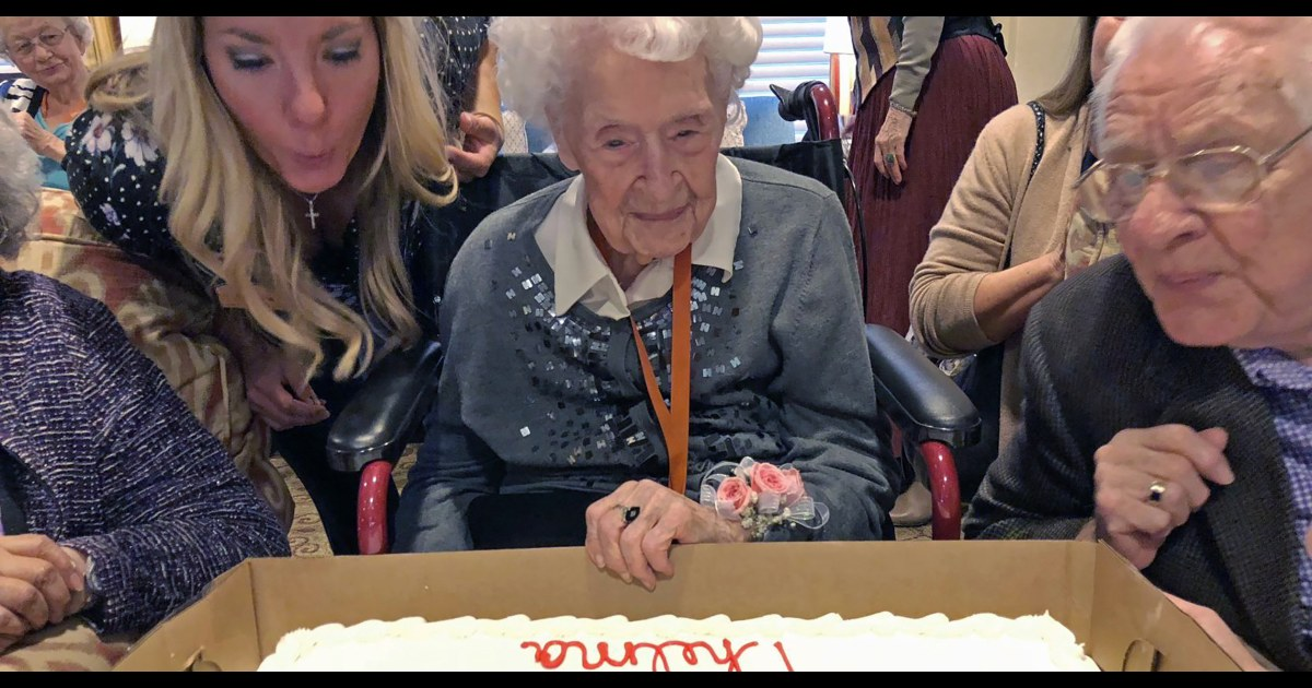 114-year-old Nebraska woman becomes oldest living American