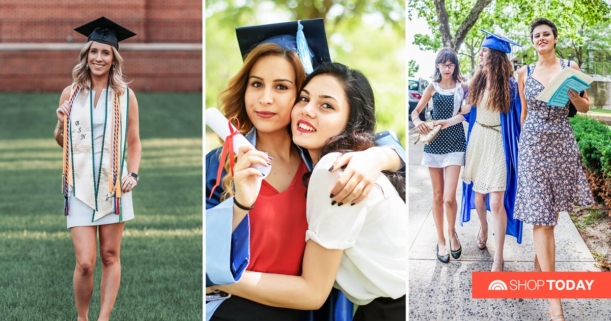 16 graduation dresses that'll go perfectly with her cap and gown