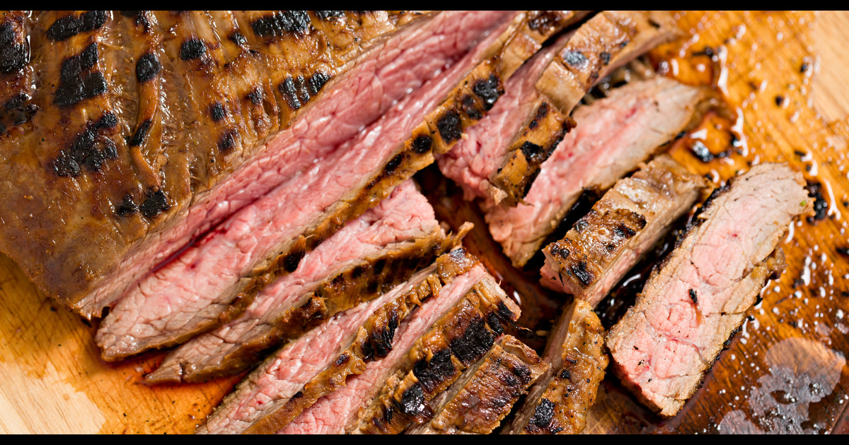 The best way to cook flank steak