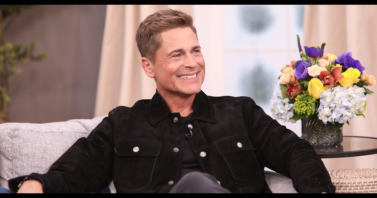 Rob Lowe marks 31 years of sobriety, thanks family for 'putting up with me'