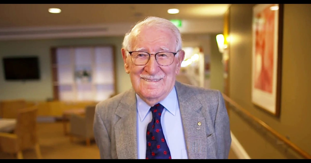 This 101-year-old Holocaust survivor calls himself 'the happiest man on Earth'
