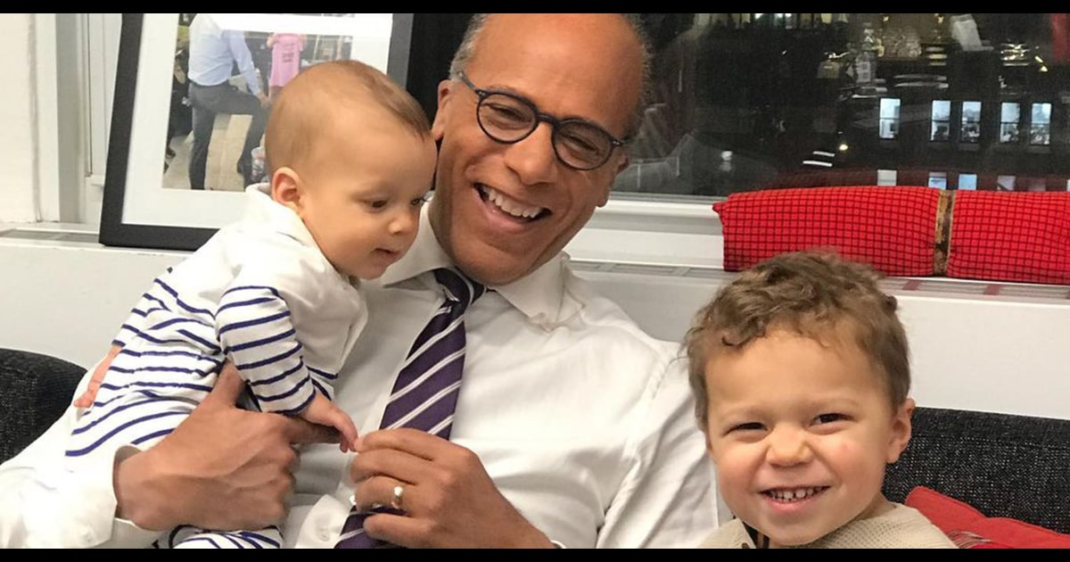 See the sweet announcement: Lester Holt will be a 'granddude' again