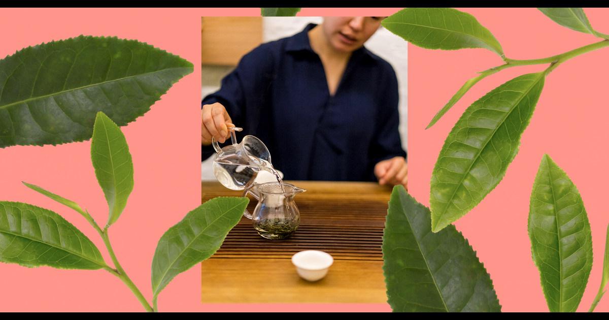 Tea educator Shunan Teng explains the many benefits of drinking tea