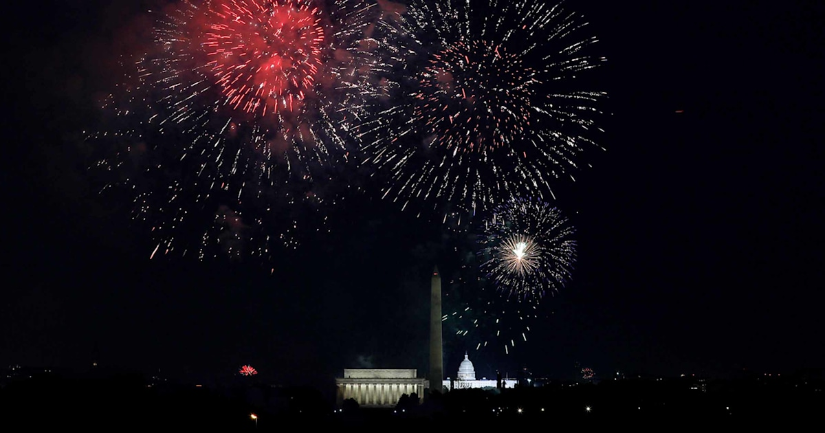 How to watch Fourth of July fireworks this year