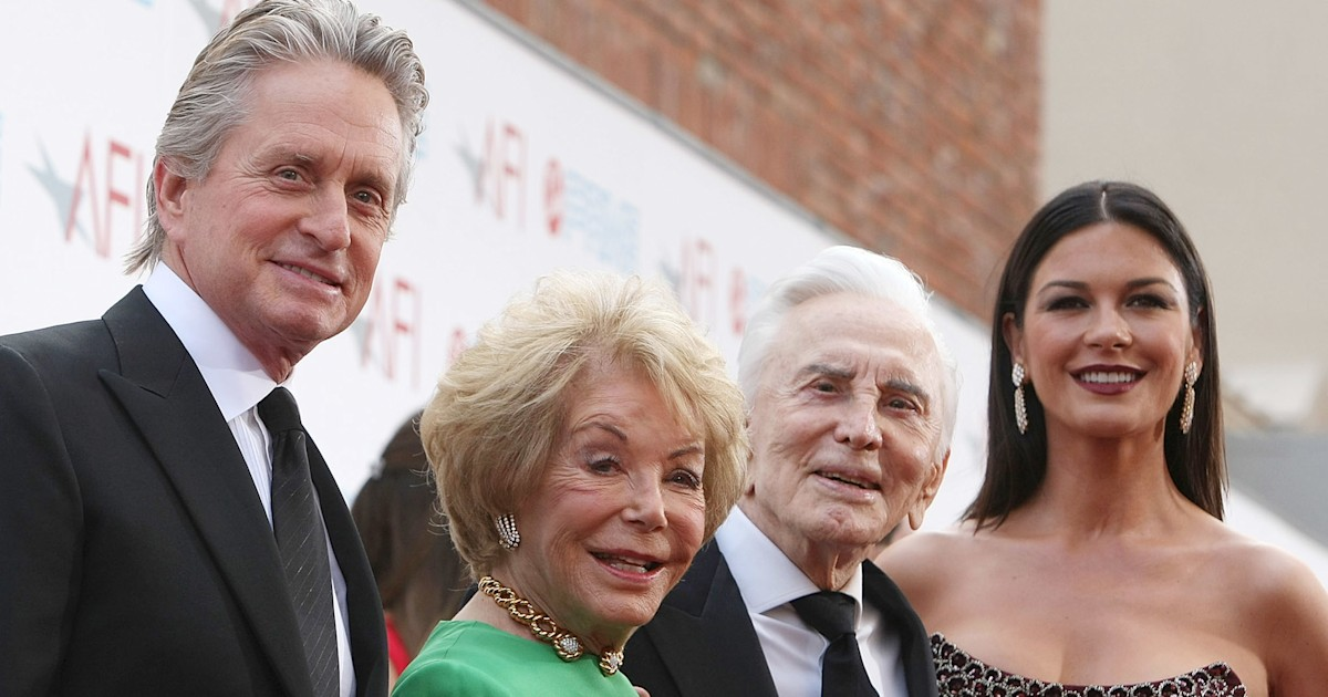 Michael Douglas praises role of stepparents 1 month after losing stepmom Anne