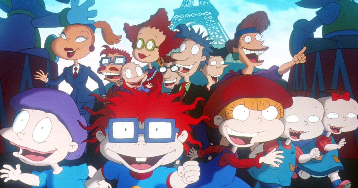 One of the original 'Rugrats' moms is openly gay in the show's reboot