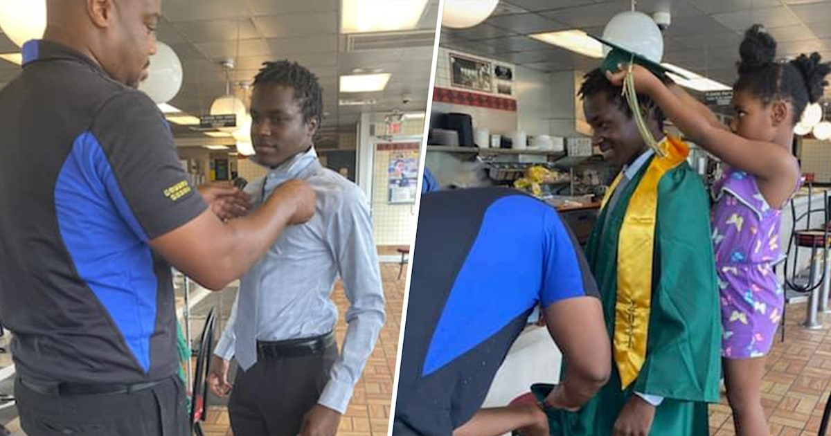 Waffle House employees band together to help co-worker attend his graduation